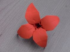 "Tutoriel Origami Flower - ""Saly"" - YouTube"