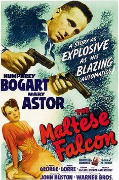 The Maltese Falcon - 1941 - Movie Poster