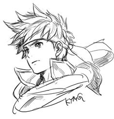 Yusuke Kozaki - Fire Emblem - Ike