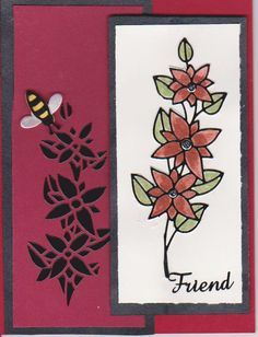 elizabeth craft designs | Elizabeth craft designs peel-offs on water color paper colored with ...
