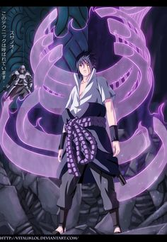 Sasuke Susanoo by *VitalikLoL on deviantART