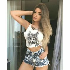 """Find and save images from the """"Amanda hummer"""" collection by Bad Girl on We Heart It, your everyday app to get lost in what you love. Hummer, Teen Fashion, Fashion Outfits, Womens Fashion, Kinds Of Clothes, Sexy Jeans, Cute Dresses, Cute Girls, Amanda"""