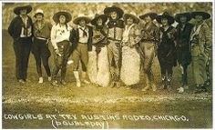Real Cowgirls at the Tex Austins Rodeo, Chicago