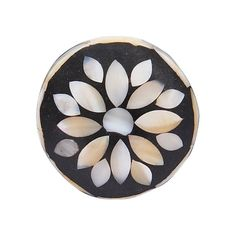 Inlaid Mother of Pearl Flower Door Knob - Cupboard Knobs - Knobs - Homeware Knobs And Knockers, Knobs And Handles, Knobs And Pulls, Door Handles, Cupboard Door Knobs, Cabinet, Pearl Flower, Color Patterns, Home Accessories