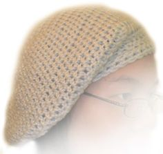 floppy crochet beanie hat free patterns | ... Free Crochet Pattern: Slouchy Beanie - Crochet Patterns, Tutorials and