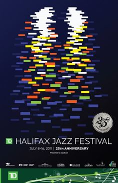 #Poster by Co. & Co. for the Halifax Jazz Festival