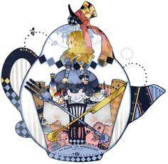 Alice #alice #wonderland #illustration