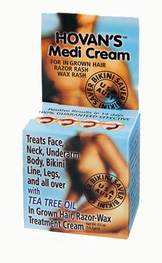 Best ingrown hair treatment cream: Hovan's Medi Cream Bikini Saver