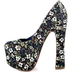 Im allowed to like hippy print shoes right? :P Vixen - Floral Multi Fabric  Dolce Vita $149.99
