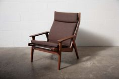Robert Parry Teak Lounge Chair with Cushion