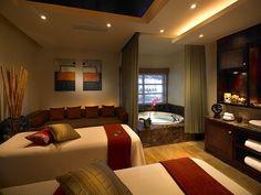 Casamento LGBT - Paradisus Palma Real - Sala de massagem do Yhi Spa