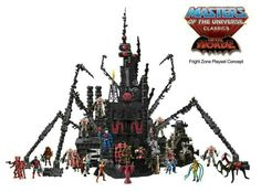 Masters Of The Universe Classics: The Horde: Fright Zone Playset Concept.