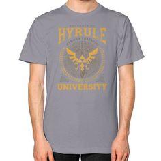 Hyrule University Unisex T-Shirt (on man)