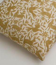 Flora & Fauna from Kerry Joyce Textiles (available in four colors)