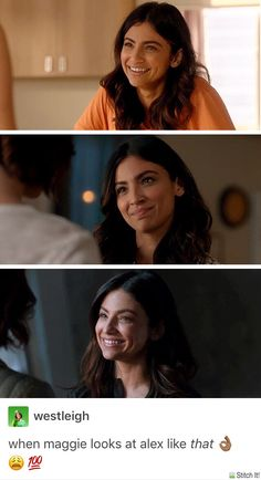 Detective dimples beautiful smile - Sanvers - Alex Danvers - Maggie Sawyer - Supergirl