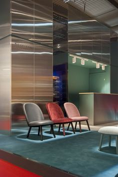 Ace lounge chairs at Salone del Mobile 2016