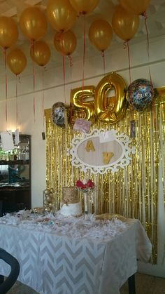 Pin by Eva Vancini on wedding anniversary in 2019 50th Wedding Anniversary Decorations, 50th Birthday Party Decorations, Anniversary Parties, Golden Anniversary, Papi, Mom, Egyptian Party, Pink Party Decorations, Sunflower Party