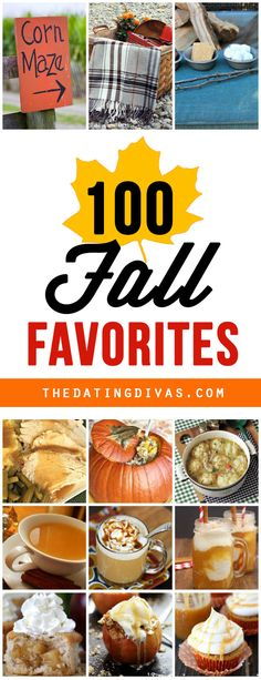 Fall favorites that everyone will love! From desserts, to date night and family activities The Dating Divas have it all for you right here!