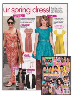 J14 featured this adorable ADA belt in their May/June issue