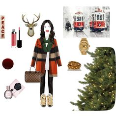"""I can almost hear sleigh bells"" by porshalillian on Polyvore"