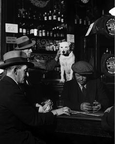 Domino players in north London, 1935 - Bill Brandt
