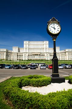 The Palace of Parliament. Bucharest, Romania