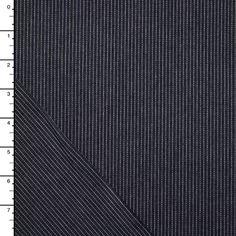 Indigo Railroad Stripe Denim by Robert Kaufman