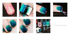 PatriSupersonic: Under the Sea Nails