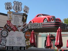 Route 66 Car Cafe in Williams, AZ
