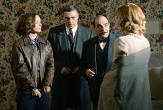 """'Поаро: Слонови Цан Ремембер """"је први од финалне серије Давид Суцхет је белгијски детектив Као"""