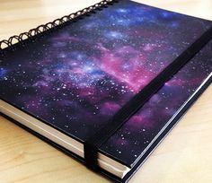 DIY Galaxy Crafts – DIY Galaxy Notebook – DIY Galaxy Projects for Your Room, G … - The source of information passes through us Galaxy Projects, Galaxy Crafts, Diy Projects For Your Room, Craft Projects, Project Ideas, Diy Galaxie, Galaxy Notebook, Galaxy Book, Fun Galaxy