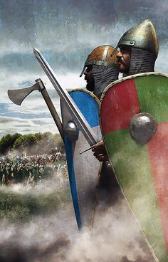 Historical Warriors – The Lost Treasure Chest Medieval Knight, Medieval Armor, Medieval Fantasy, Vikings, Anglo Saxão, Valhalla, Norman Knight, Early Middle Ages, Viking Art