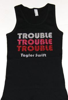 Taylor Swift Trouble Trouble Trouble Concert by princesspatch