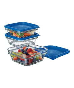 Take a look at this Stack It Glass Containers today!