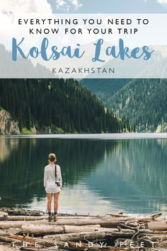 Kolsai Lakes + Lakes Kaindy: Everything You Need To Know For Your Trip in South-East Kazakhstan #travel #adventure #kazakhstan #centralasia #asia Best Things To Do In Kazakhstan | Places To Visit In Kazakhstan | Day Trips From Almaty | Hiking In Kazakhstan | Places To Visit Near Almaty | Highlights Of Kazakhstan