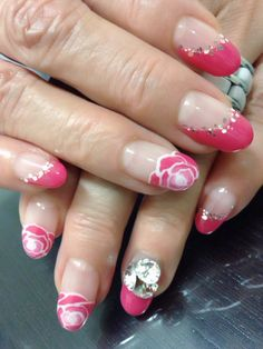 Gel Nail Art ROES