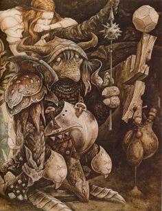 1984 Labyrinth concept art from Brian Froud Jim Henson Labyrinth, Labyrinth Movie, Brian Froud, Magical Creatures, Fantasy Creatures, Dark Fantasy, Fantasy Art, John Howe, Dark Fairytale