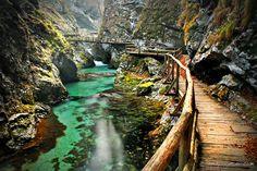 Bejski Vintgar Gorge, Slovenia