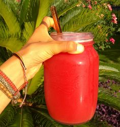 Say Cheers! Nothing Better than Chilled Watermelon Juice on a Sultry Summer Day!