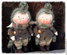 Коллекционные куклы ручной работы. Ярмарка Мастеров - ручная работа Чук и Гек. Handmade.
