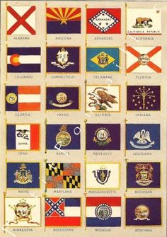 State Flags On Pinterest States Flags Flags And United