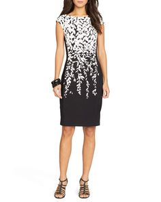 Lauren Ralph Lauren Petites Dress - Printed Jersey