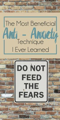 Of all the ways I have learned to deal with my anxiety, THIS is the number one, most imortant thing I do. www.mentallyinteresting.com