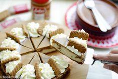 Speculoos cheesecake | Kookmutsjes Blackberry Cake, Cake Tins, Quick Easy Meals, Cheesecake, Cookies, Dishes, Baking, Desserts, Windsor Pilates