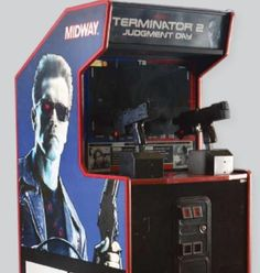 #9. Terminator 2, so awesome they HAD to make its own arcade game. Granted they do it with other films...but this was a while ago folks, before Xbox and Wii and Playstation 3...