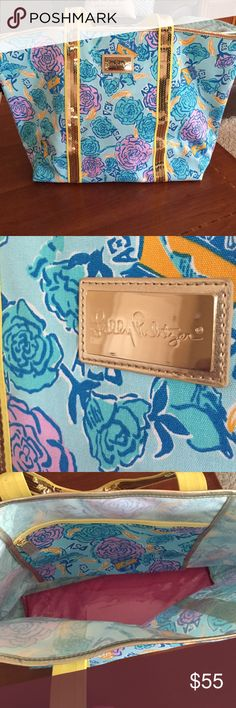 Lilly Pulitzer Tote in Alpha Xi Delta Lilly Pulitzer Tote in Alpha Xi Delta. Like new! Lilly Pulitzer Bags Totes
