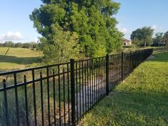 Aluminum fences come in many different styles, colors and grades. With Mossy Oak Fence, you can customize your picket spacing, topper styles, panel heights, decorative accessories (rings, scrolls, finials), and more. Our installation standards for aluminum fencing are second to none. We take pride in delivering beautiful, high-quality aluminum fences at affordable prices! Aluminum Fence, Mossy Oak, Fence Design, Fencing, Different Styles, Decorative Accessories, Pride, Deck, Colors