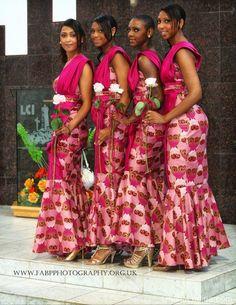 Traditional African Wedding attire