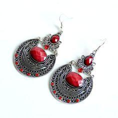 bohemian clothing and jewelry | ... Fashion 2013 Boho Jewelry Crystal Big Fashion Earrings For Women SE193