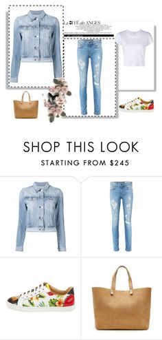 """""""Outfit # 3569"""" by miriam83 ❤ liked on Polyvore featuring 3x1, rag & bone, Christian Louboutin, Victoria Beckham and RE/DONE"""
